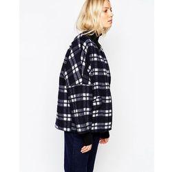 Parka London Katarina Coat In Wool Check - Multi