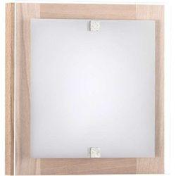 Kinkiet LAMPA ścienna KYOTO XS 3756 Nowodvorski drewniana OPRAWA kwadratowa IP20 drewno biała