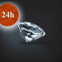 Diament 0,43 ct / H / IF