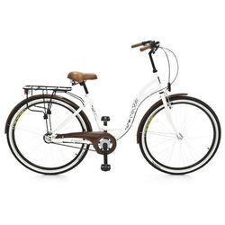 Rower DAWSTAR Citybike 26 Biały S3B + DARMOWY TRANSPORT!