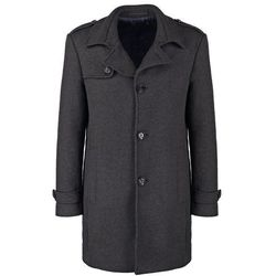 Esprit Collection Płaszcz wełniany /Płaszcz klasyczny anthracite