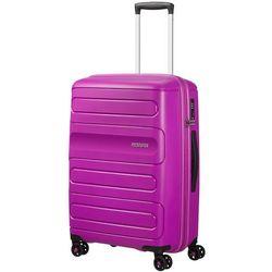 0ca9af33a7bfe American Tourister Sunside średnia poszerzana walizka 67,5 cm / fioletowa -  Ultraviolet