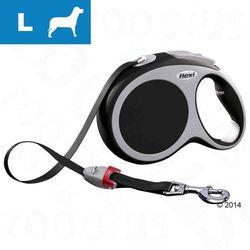 Smycz dla psa Flexi Vario L antracytowa, 8 m - Lampka LED-Lighting-System