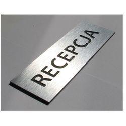 Tabliczki informacyjne na drzwi z aluminium 15x5cm