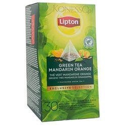 Zielona herbata Lipton Piramida Green Tea Mandarin Orange 30 kopert