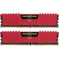 CORSAIR DDR4 Vengeance LPX 16GB/3200(2*8GB) RED XMP 2.0 CMK16GX4M2B3200C16R