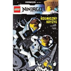 Lego Ninjago komiks 9. Kosmiczny kryzys + zakładka do książki GRATIS (opr. broszurowa)