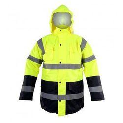 LAHTI PRO Kurtka ostrzegawcza zimowa żółta, rozmiary S-XXXL (ZNALAZŁEŚ TANIEJ - NEGOCJUJ CENĘ !!!)