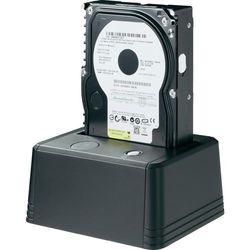 Stacja dokująca do dysków twardych, HDD renkforce 1013329, USB 2.0, SATA, 1 Port