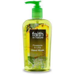 Organiczny płyn do mycia rąk z ananasem i limonką 300ml - Faith In Nature