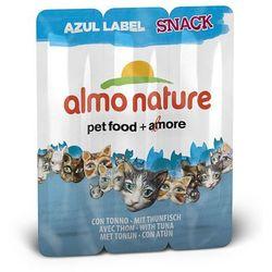 ALMO NATURE Azul Label Snack – tuńczyk 3x5g