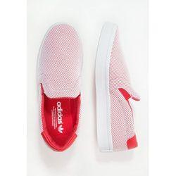 adidas Originals COURTVANTAGE ADICOLOR Półbuty wsuwane collegiate red/white