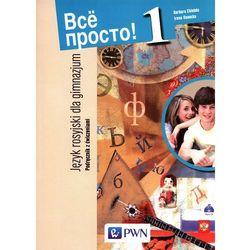 Wsio prosto 1 Podręcznik z ćwiczeniami z płytą CD (opr. miękka)
