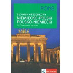 Kieszonkowy słownik niemiecko-polski polsko-niemiecki (opr. miękka)