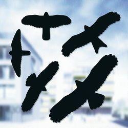 Wizulany odstraszacz ptaków - naklejki ptaków drapieżnych Swissinno 1 705 001