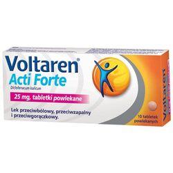 Voltaren Acti Forte tabletki powlekane 0,025 g 10 tabletek