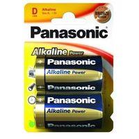 PANASONIC 2szt. Bateria alkaliczna LR20APB (D)