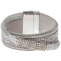 sweet deluxe MARISOL Bransoletka grey/silvercoloured/crystal