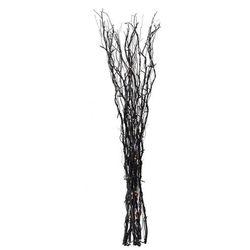 Langeman dekoracja gałązki czarny 120cm 60 lampek 700251 Markslojd