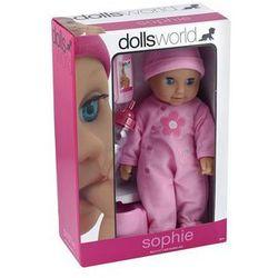 Lalka bobas 30 cm Sophie różowa
