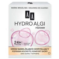 AA Hydro Algi Różowe (W) krem nawilżająco-korygujący cera sucha/normalna na dzień 50ml