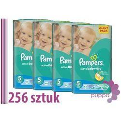 PAMPERS pieluszki Active Baby 5 Junior 256 sztuk