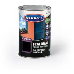Emalia alkidowa Ftalonal Czarny półpołysk 0,9L Nobiles