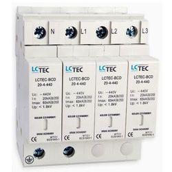 LC Ochronnik ogranicznik przepięć LCTEC-BCD 4-polowy klasa BCD