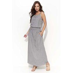 cbc4cf38b2 suknie sukienki szara dluga sukienka - porównaj zanim kupisz