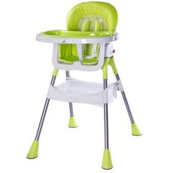 Krzesełko do karmienia Pop zielone