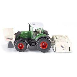 Zabawka SIKU Traktor Fendt 936 Ze Stabilizatorem Gruntu I Rozsiewaczem