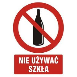 Zakaz używania szkła