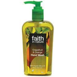 Organiczny płyn do mycia rąk z grejpfrutem i pomarańczą 300ml - Faith In Nature