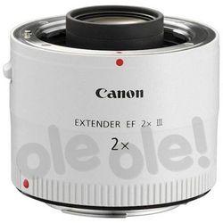 Canon Extender EF 2 X III Darmowy transport od 99 zł | Ponad 200 sklepów stacjonarnych | Okazje dnia!
