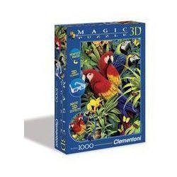 Magic 3D Papugi Puzzle 1000