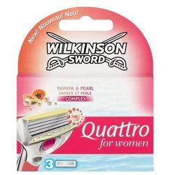 Wilkinson Quattro For Woman Nożyki do maszynki