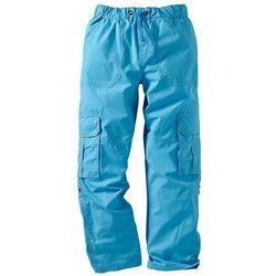 Spodnie bojówki bonprix turkusowy