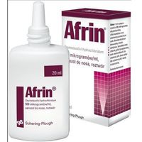 Afrin Nasal 0.05% spray do nosa 0.5 mg/1ml 20 ml