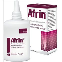 Afrin Nasal 0.05% spray do nosa 0.5 mg/1ml 20 ml