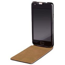 Pokrowiec HAMA Etui z klapką Slim (Samsung Galaxy S II) Czarny