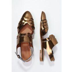 Emma Go FEDORA Sandały metal copper