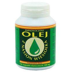 Olej z nasion wiesiołka 500mg 100 kaps.