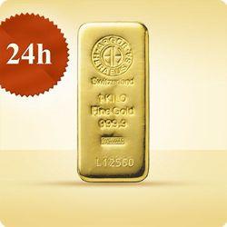 1000 g (1 kg) Sztabka złota - wysyłka 24 h!
