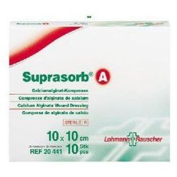 Suprasorb® A - 10cm x 20cm - 1 sztuka - opatrunek jałowy z włókien algianów wapnia