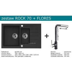 Zestaw AVLEUS ROCK 70 + FLORES (kolor CZARNY)