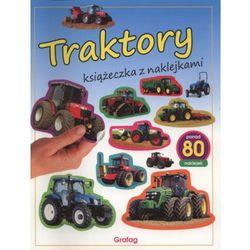 Książeczka z naklejkami. Traktory