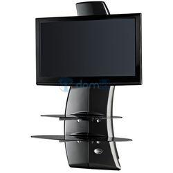 Półka pod TV z maskownicą GHOST DESIGN 2000 ROTATION VESA karbonowa