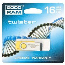 GOODDRIVE FLASHDRIVE 16GB USB 2.0 Twister Yellow