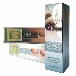 FEG - FEG Eyelash Enhancer Hologram x 3 - Odżywka do rzęs, serum wzmacniające rzęsy - ZESTAW 3 SZTUKI w promocyjnej cenie - 3 ml x 3