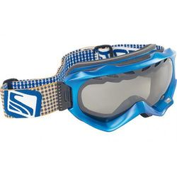 gogle SCOTT WITNESS flat blue (silver chrome)